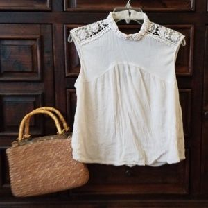 BoGo!👋Market & Spruce choker neck blouse